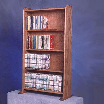 400 Series 160 DVD Multimedia Storage Rack Color: Clear