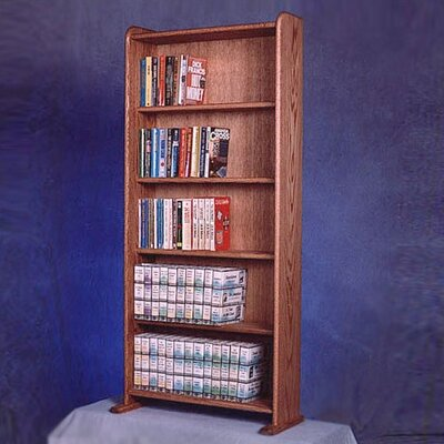 500 Series 200 DVD Multimedia Storage Rack Color: Clear