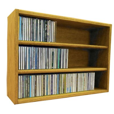 Multimedia Storage Rack Size: 18.75 H x 26.87 W x 6.75 D