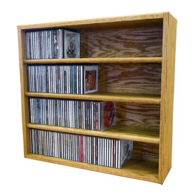 Multimedia Storage Rack Size: 24.75 H x 26.87 W x 6.75 D