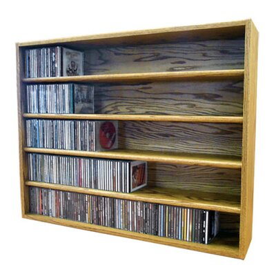 Multimedia Storage Rack Size: 30.75 H x 39.43 W x 6.75 D