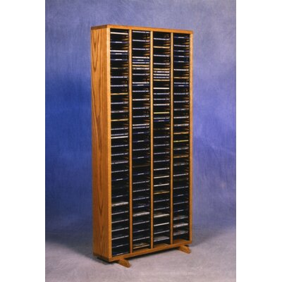 400 Series 320 CD Multimedia Storage Rack Finish: Natural