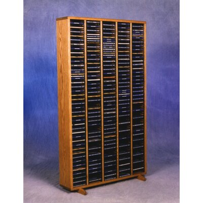 400 Series 400 CD Multimedia Storage Rack Finish: Natural