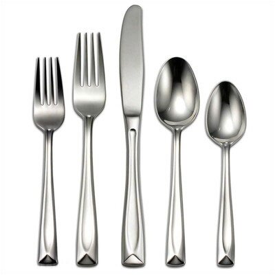 Stainless Steel Lincoln 45 Piece Flatware Set