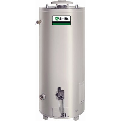 Commercial Tank Type Water Heater Nat Gas 98 Gal Conservationist 75,100 BTU Input Single Flue Model