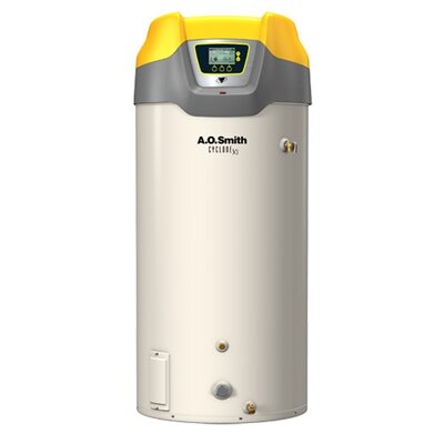 Commercial Tank Type Water Heater Nat Gas 130 Gal Cyclone Xi 399,900 BTU Input High Efficiency
