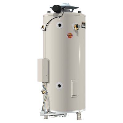 BTR-200 Commercial Tank Type Water Heater Nat Gas 100 Gal Master-Fit 199,000 BTU Input