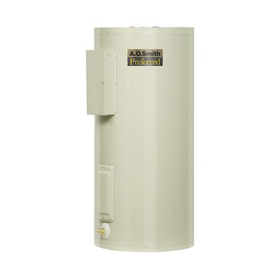 Commercial Tank Type Water Heater Light Duty Electric 80 Gal Dura-Powered Preferred 12KW Input