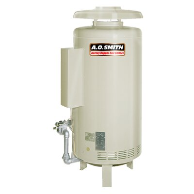HW-420 Commercial Hot Water Supply Boiler Nat Gas Burkay 420,000 BTU Input