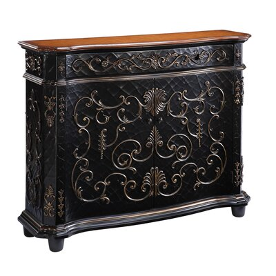 Cheap Gail's Accents Chambery Crackle Gilded Sideboard in Distressed Crackle (HQB1020)
