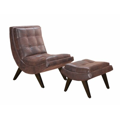 Winmark Gails Slipper Chair and Ottoman