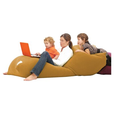 Yogibo Indoor Bean Bag Sofa Upholstery: Camel