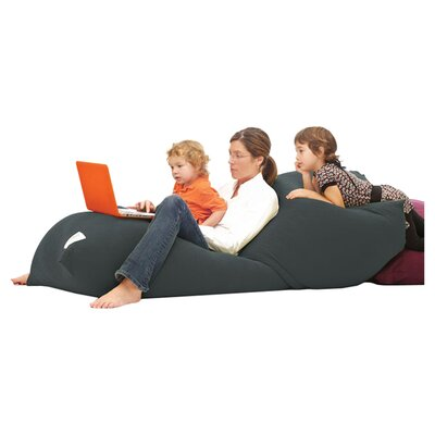 Yogibo Indoor Bean Bag Sofa Upholstery: Dark Grey