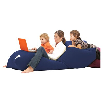 Yogibo Indoor Bean Bag Sofa Upholstery: Blue