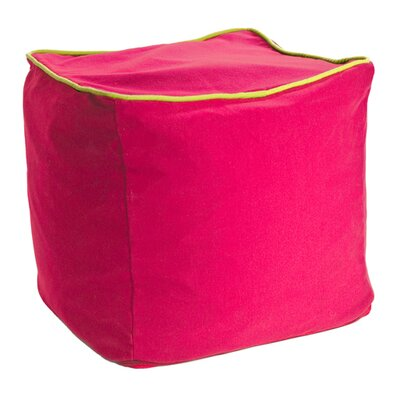 Yogibo Cube Ottoman Upholstery: Pink