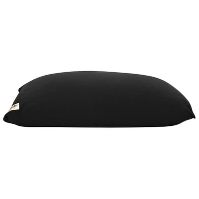 Yogi Bean Bag Chair Upholstery: Black