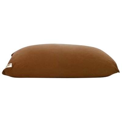 Yogi Bean Bag Chair Upholstery: Brown
