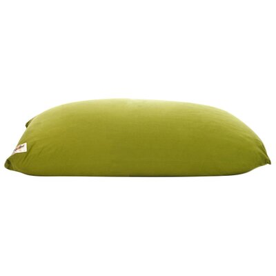 Yogi Bean Bag Chair Upholstery: Green