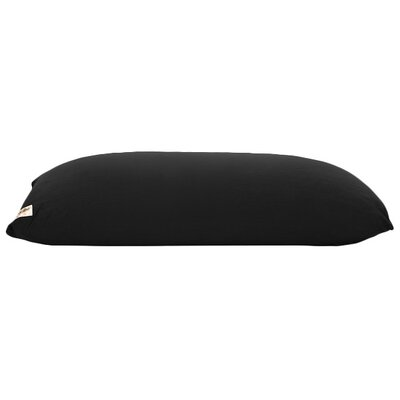 Yogibo Indoor Bean Bag Sofa Upholstery: Black