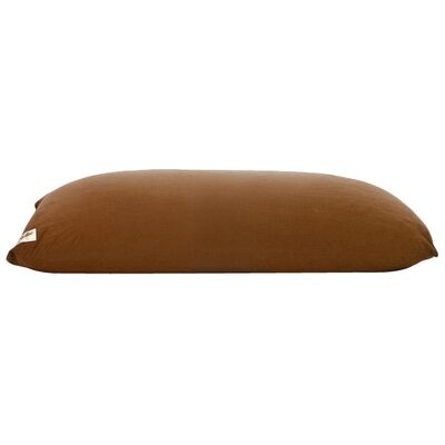 Yogibo Indoor Bean Bag Sofa Upholstery: Brown