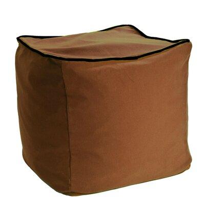 Yogibo Cube Ottoman Upholstery: Brown