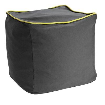 Yogibo Cube Ottoman Upholstery: Dark Gray