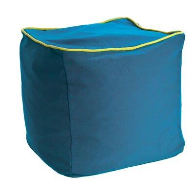 Yogibo Cube Ottoman Upholstery: Turquoise
