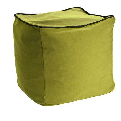 Yogibo Pouf Upholstery: Green