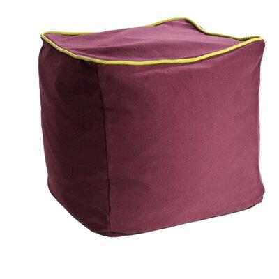 Yogibo Cube Ottoman Upholstery: Purple