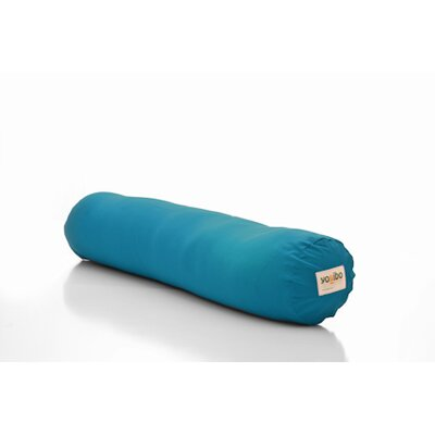 Yogibo Roll Multi-Purpose Support Foam Body Pillow Color: Turquoise