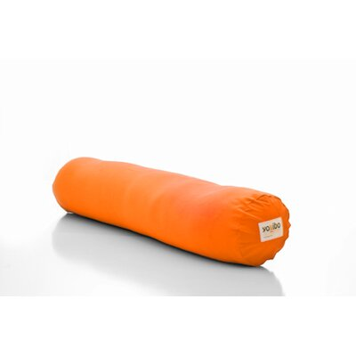 Yogibo Roll Multi-Purpose Support Foam Body Pillow Color: Orange