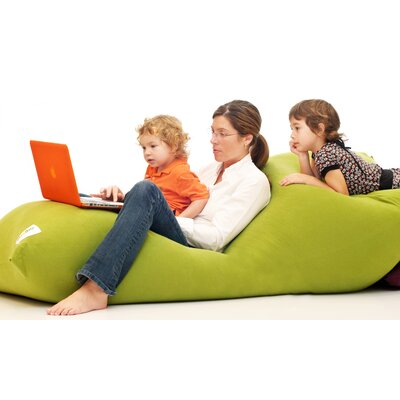 Yogibo Indoor Bean Bag Sofa Upholstery: Green