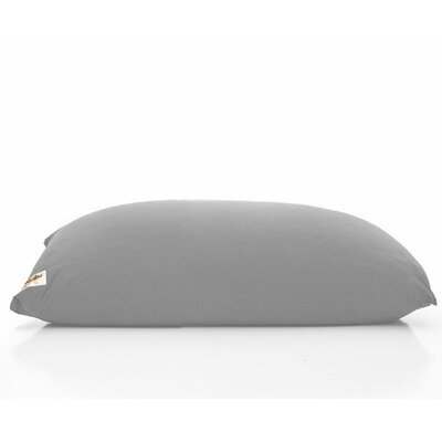 Yogi Bean Bag Chair Upholstery: Light Grey