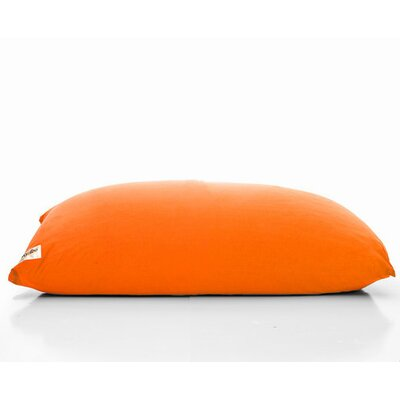 Yogi Bean Bag Chair Upholstery: Orange
