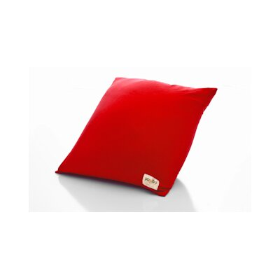 Yogibo / Indoor Bean Bag Chair Upholstery: Red