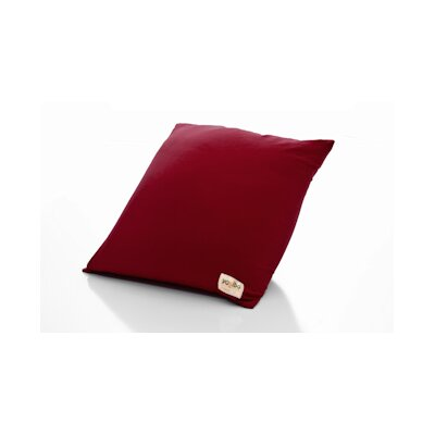 Yogibo / Indoor Bean Bag Chair Upholstery: Burgundy