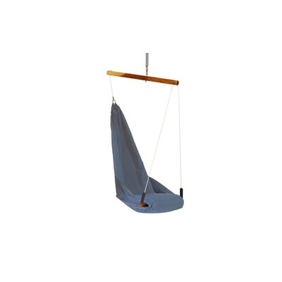 Yogibo Fly Polyester Chair Hammock Color: Blue