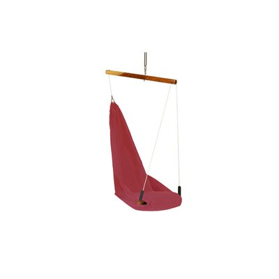 Yogibo Fly Polyester Chair Hammock Color: Red