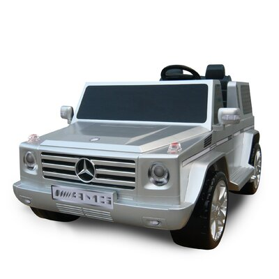 Mercedes Benz G55 AMG Two Seater 12V Battery Powered Jeep 0592