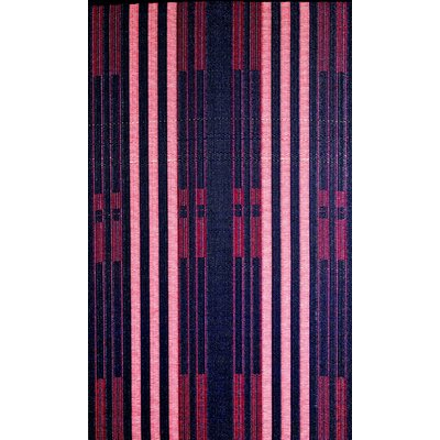 Brick Lane Reversible Design Blue/Red Outdoor Area Rug Rug Size: 5 x 8
