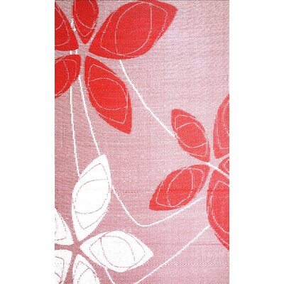 Alaska Reversible Red/white Outdoor Area Rug Rug Size: Rectangle 4