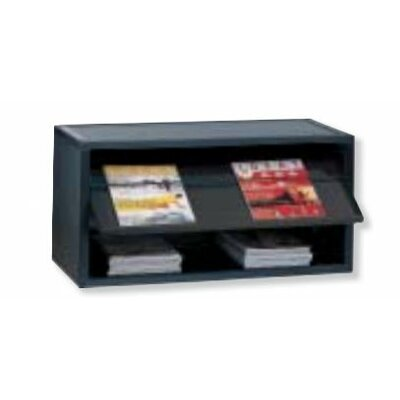 Multibloc Module Literature Display Finish: Black
