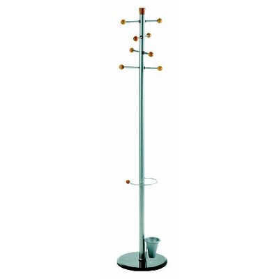 Alco Easy Coat Rack/Stand with 8 Knobs 2807