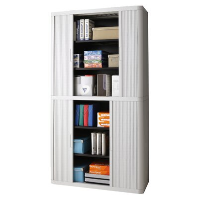 EasyOffice 2 Door Storage Cabinet Color: Grey Product Photo 26