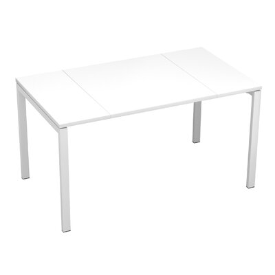 EasyDesk Training Table Finish: White, Size: 30 H x 63 W x 32 D
