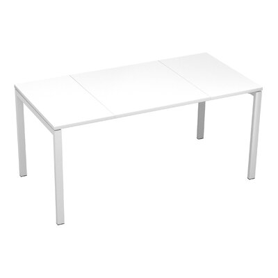 EasyDesk Training Table Finish: White, Size: 30 H x 55 W x 32 D