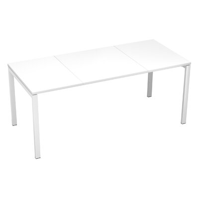 EasyDesk Training Table Finish: White, Size: 30 H x 71 W x 32 D