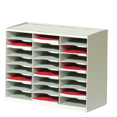 Master Literature Organizer with 24 Compartments