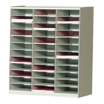 Master literature Organizer with 36 Compartments