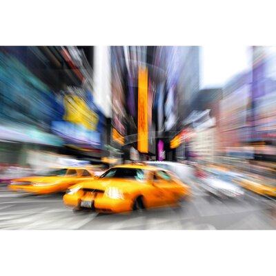 'Manhattan Taxis' Photographic Print